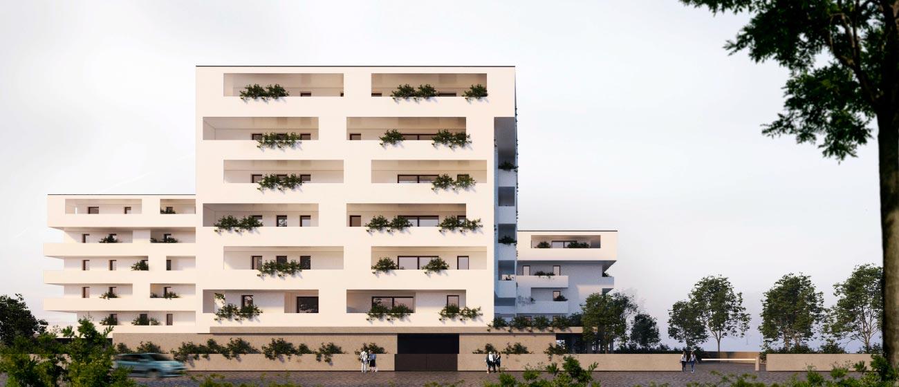 Residenze Pacinotti 2 Immobiliare Advantage vista laterale