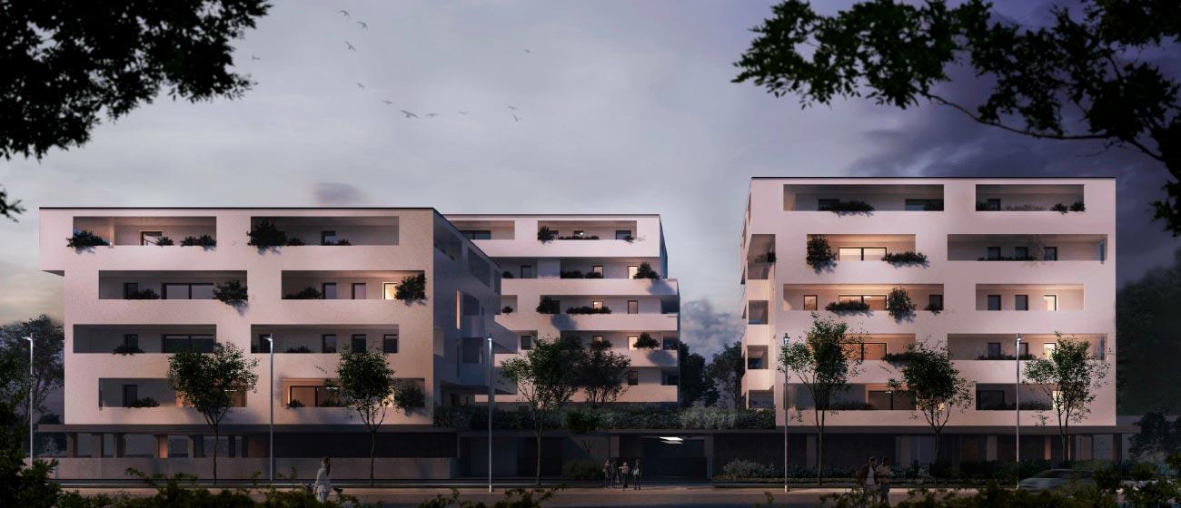 Residenze Pacinotti Immobiliare Advantage Vista notturna